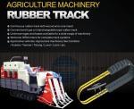 Bob Mini Excavator agricu rubber tracks T180 T190 Agriculture Harvester belt B-7 SUMITOM SH75U-3 TAKEUCH TB175 450X81X76