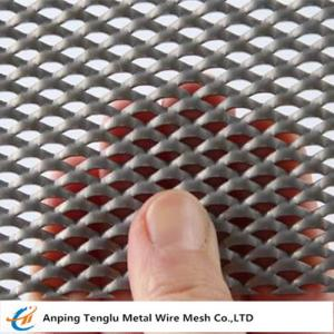 China Aluminum Expanded Security Window Screen |Opening 2 mmX3 mm on sale