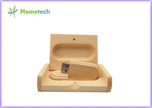 China Stick Style Wooden USB Flash Drive , USB Flash Thumb Drive 5 - 15MB / S Reading Speed on sale