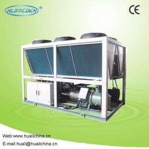 China 380V 50Hz R22 Screw Efficient Heat Pump High Efficiency Air Cool Chiller on sale