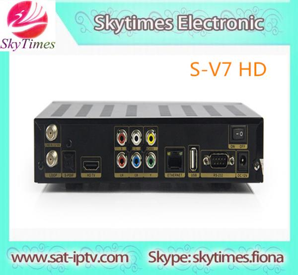 latest product Skybox S-V7 3G Biss Key WEB TV HDMI AV OUT