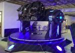 Big Pendulum Virtual Reality Game Machine , 9D VR Flying Simulator For Amusement Park