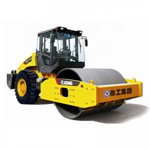 China XS142J XS143J 14 Ton Road Building Machines / Single Drum Road Roller Compactor 14t Vibratory on sale