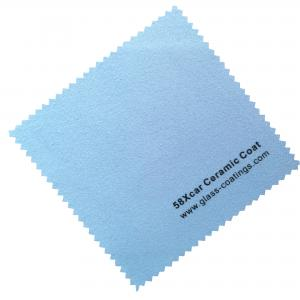 China Glass coating application cloth crystal coating agent cloth glass coat microfiber cloth nano car suede cloth on sale