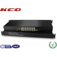 FC UPC Fiber optic media converter Video Over Fiber Media Converter Rack Mounting