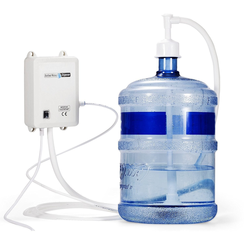 120V AC Bottled Water Dispensing Pump System Fits A Variety Of Bottles