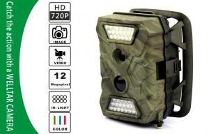 China 20m Night Vision Camouflage Hunting Trail Camera With 60° PIR Angle on sale