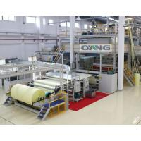 Single Beam PP Non Woven Fabric Making Machine / Production Line high strength