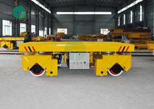 China Battery Powered Aluminium Billet Handling Steerable Transfer Vehicle For Mold Industry on sale
