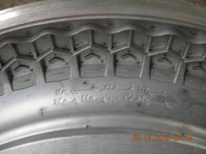 China Customized Motorcycle Tyre Mould / E-Bike Tyre Mould , Tyre Mold on sale