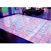 High definition full color floor LED display , P6.25 Induction, dance floor full color LED electronic video display