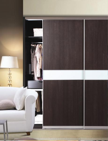 Cy Zw214e Bedroom Sliding Panel Closet Door Modern Durable Aluminum