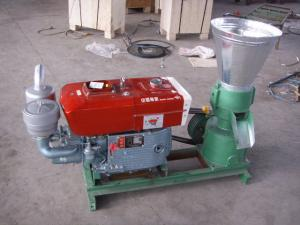 China Home use 150D Flat Die Pellet mill for Making Pellets With Diesel Engine on sale