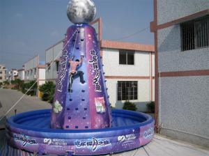 China Violet Giant Inflatable Sports Games Amusement Park Equipment Violet on sale