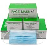 Single Medical Mask Free Size Disposable Surgical Face Mask Absorbent Cotton