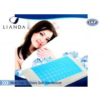 China Reversible Cooling Gel Pillows with Stay Cool Blue Gel Top and Premium Memory Foam on sale
