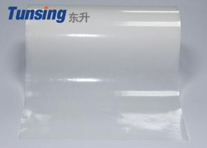 China Po Self Adhesive Hot Melt Glue Sheets Conventional Length 50M Bonding Diamond on sale