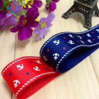 China Hot sale promotional pretty printed grosgrain ribbon wholesale on sale