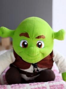 China Stuffed toys SHREK 30cm tall, Plush toys,Toy animals,lovely Toys  cartoon mascot animal on sale