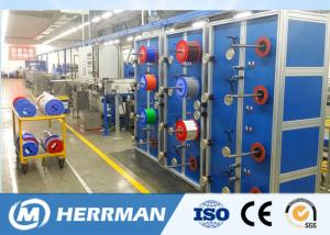 China Automatic Fiber Optic Cable Production Line Loose Tube Secondary Cable Coating Machine on sale