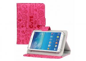 China Cute Android Real Leather Tablet Case , Universal Luxury Leather Ipad Case on sale