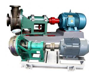 China Stainless Steel Electric Chemical Pump , Horizontal Forced Circulation Pump on sale