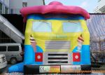China Ice Cream Truck Inflatable Bouncy Castle Durable And Safety EN14960 ROSH wholesale