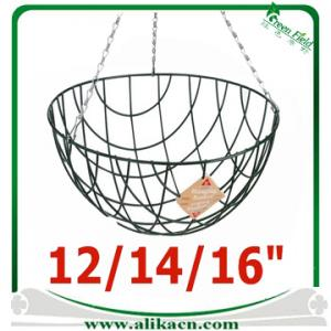 China Traditional Wire Hanging Grow Basket on sale