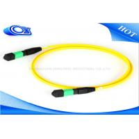Outdoor 12 / 24 Core 5M Length MTP MPO Connector For Optical Fiber Patch Cord