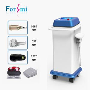 China Hot selling newest skin rejuvenation 1064nm 532nm 800w q-switch nd yag laser tattoo removal creams on sale
