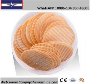 China Stainless Steel Made Full Automatic Baked Potato Chips Production Line on sale