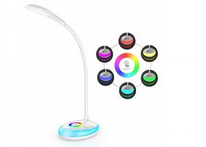 China Flexible LED Table Lamp With 256 Color For Bedroom / Dimming Touch Study Desk Light on sale
