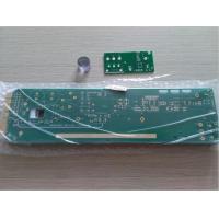 "1.6mm FR-4 3oz copper ENIG with gold finger 30u"" green soldmask white silkscreen PCB board"