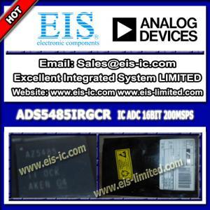 China ADS5485IRGCR - TI - C - Analog to Digital Converters - ADC 16BIT - sales006@eis-ic.com on sale