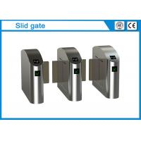 China UNIQSCAN Security Sliding Turnstile Turnstile Access Control System With 1.5mm Thickness on sale