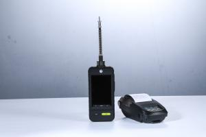 China Color Display Single O3 Portable Gas Detector Show Both Curve / Data With Flashlight on sale