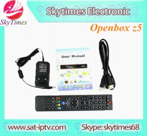 China DVB-S2 Receiver original Openbox Z5 HD Support free IPTV, Youtube/Youporn on sale