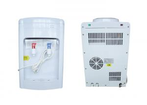 China Convenient Hot Cold Bottled Water Dispenser White Color Thermoelectric Cooling on sale