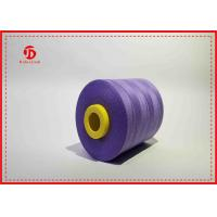 Semi Virgin Dope dyed Spun Polyester Sewing Yarn Super Bright Yizheng fiber