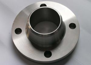 China Round Stainless Steel Pipe Flange Duplex Slip On Flanges For Chemical Engineering on sale