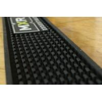 China Promotion Pvc Bar Mats With MXR Logo , Custom Bar Spill Mats on sale