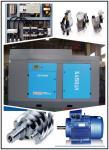 Double Screw 700 CFM Air Compressor , 132kw Stationary Rotary Screw Air Compressor