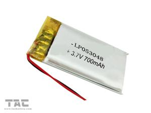 China Rechargeable Lithium Ion Battery 3.7 V 700 mAh for Cyber Physical System GSP503048 on sale