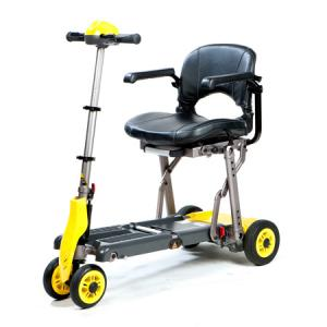 China Portable Folding Electronic Scooter/Wheelchair on sale