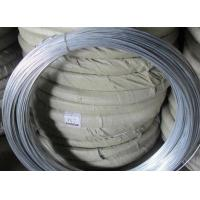 Q195 Galvanised Iron Wire , Silver Mesh Weaving Galvanized Binding Wire
