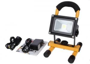 China 10W Waterproof Rechargeable LED Flood Lights Black Aluminum 4 Hours Portable on sale
