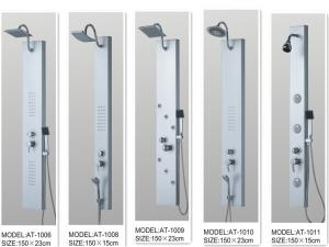 China Rainfall shower screen Shower Columns Panels Rectangle type 150 X 23 / cm on sale