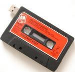 O flash portátil de USB da fita de Casstte conduz a movimentação da memória Flash da capacidade total, venda por atacado