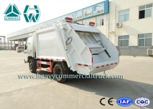 China 16Cbm 4 X 2 Self Loading Refuse Compactor Truck With Hydraulic System on sale