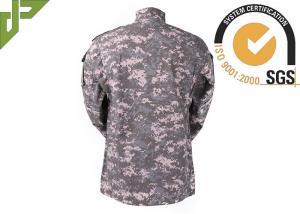 Quality Les militaires d'ACU combattent l'uniforme avec la poche inclinée par fermeture pour tout le devoir de saison for sale